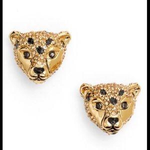 Kate Spade jaguar earrings